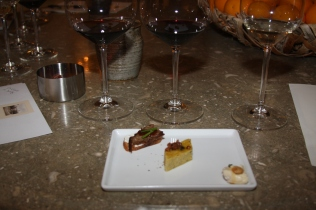 Yummy goodies paired with the wine!