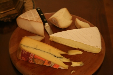 I miss the bread and cheese!