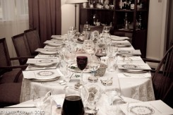 Beautiful Seder Table