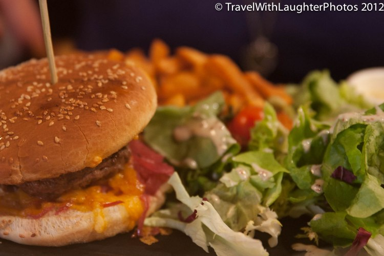 Yes, we were in France and got burgers.  They were so YUMMY!