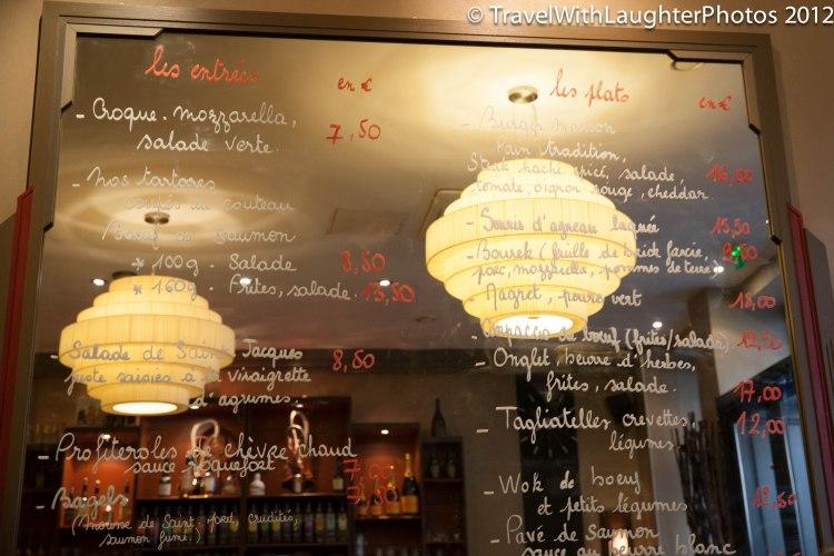 Love the menu