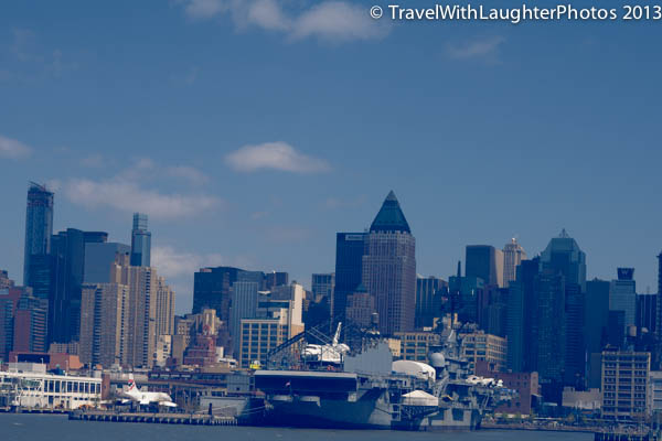 Cool to the Space Shuttle Enterprise on the Intrepid Sea