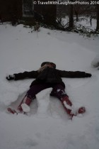 Snow angel!