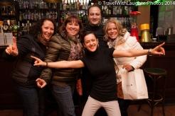 The fun staff at the bar!