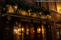 You gotta find the Irish bar!