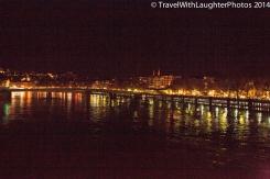 The city at night!