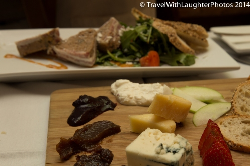 Great cheese plate!