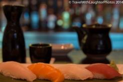 LOVE the sushi tasting!
