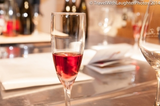 Love the rose sparkling wines!