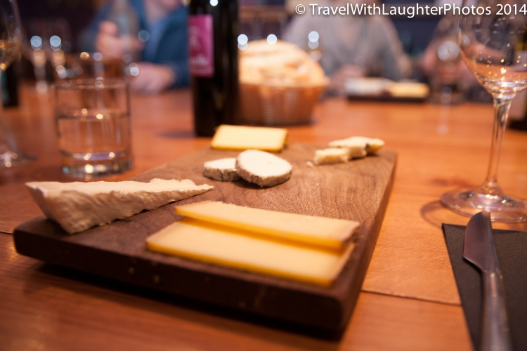 Yummy cheese plate!