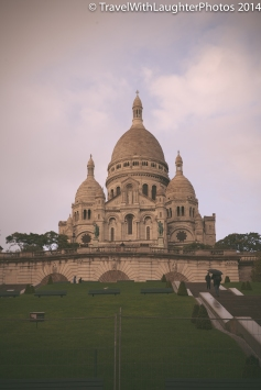 Sacré-Cœur is so beautiful