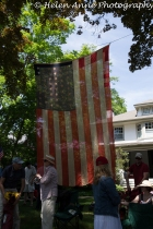 I LOVE this flag! They only hang it on Memorial Day!