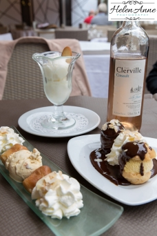 Relish wine and desserts!
