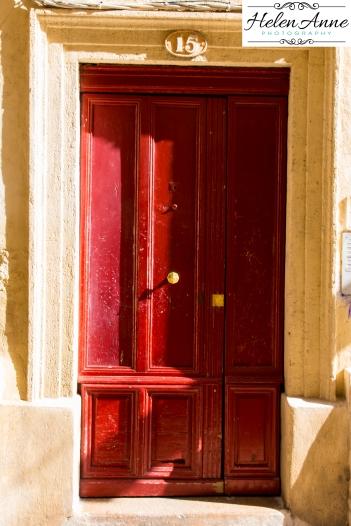 Beautiful red door!