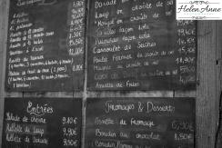 Simple menu