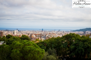 Barcelona from Park Güell.