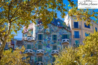 We didn't tour Casa Batlló, but it was beautiful from the outside.