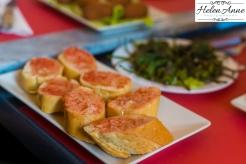 Common tomato bread