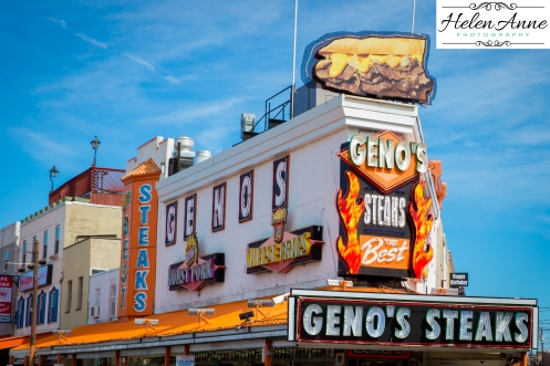 Next up! Geno's