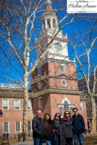 Independence Hall family shot!