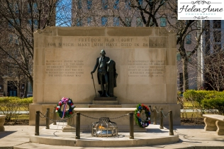 Tomb of the unknown solider in Washington Square!