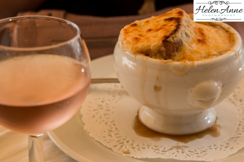 There is nothing like French onion soup in France!