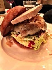 Terrine burger with Foie Gras