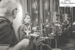 Tour of the winemaking facilitates with Camille Nosworthy